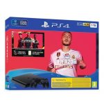 Console Ps4 1TB Slim & Ps4 FIFA 20 & Controller Ps4 Sony Dualshock Wireless Controller (Black)